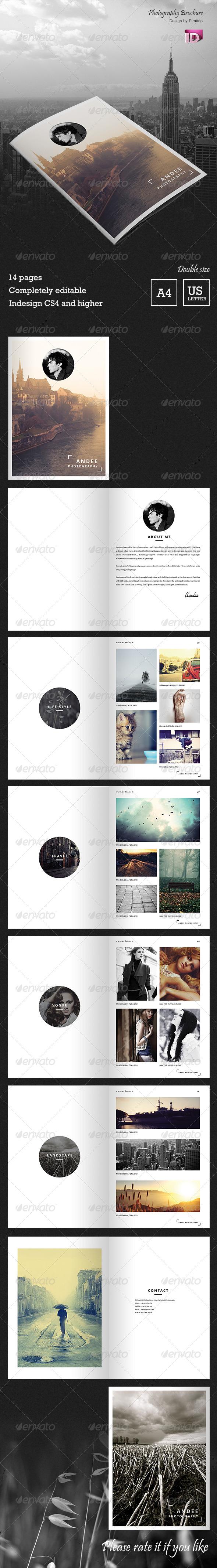 Andee - Photography Brochure - Portfolio Brochures