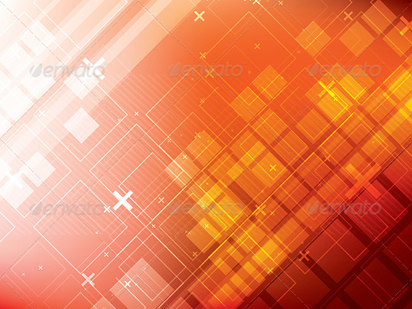 Futuristic Technology Abstract Background - Technology Conceptual