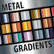 Metal Gradients - GraphicRiver Item for Sale