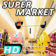 Mall Shopping Cart Supermarket - VideoHive Item for Sale