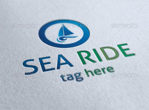 Sea Ride Logo - Nature Logo Templates