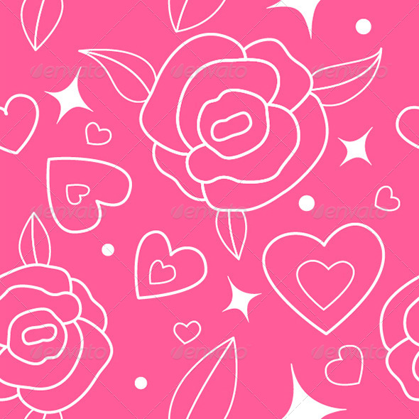 Love and Roses - Patterns Decorative