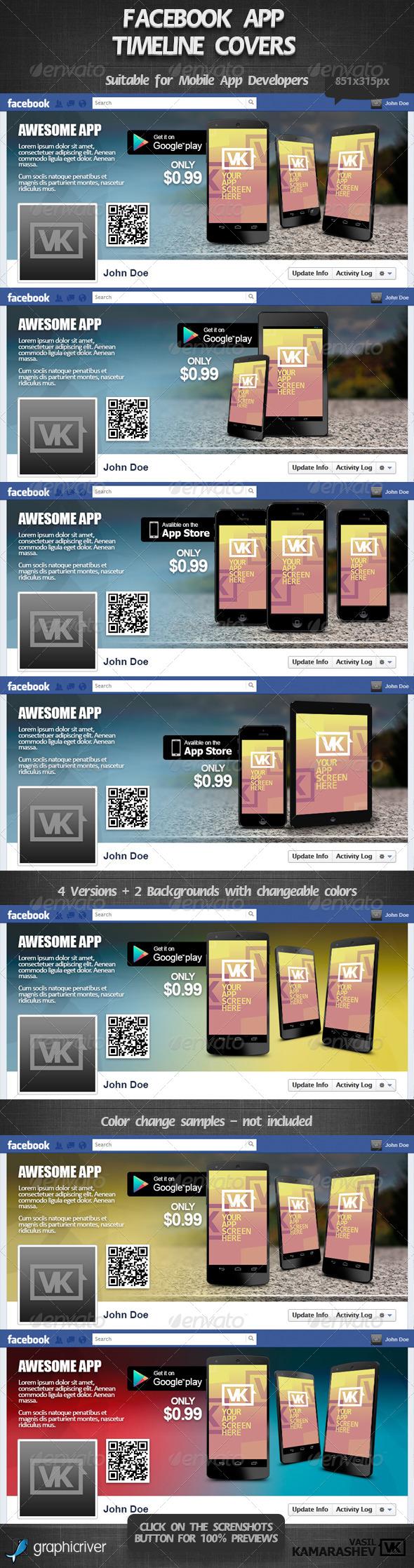 Facebook App Timeline Cover 1 - Facebook Timeline Covers Social Media