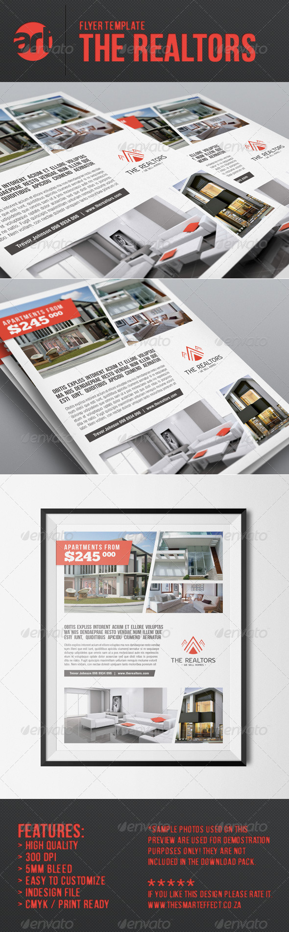 The Realtors Flyer Template - Corporate Flyers