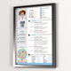 One Page Resume - CV - GraphicRiver Item for Sale