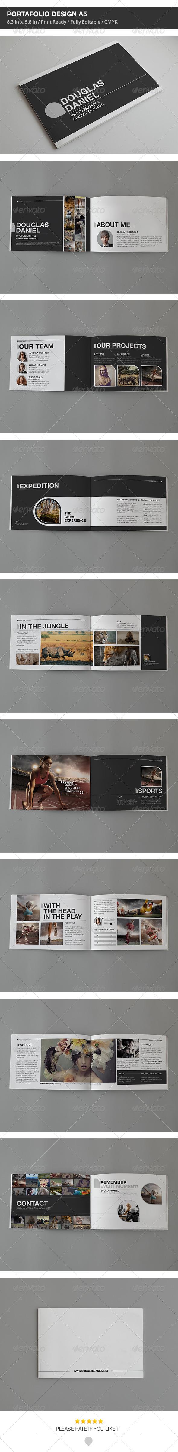 DD Portfolio Design A5 - Portfolio Brochures