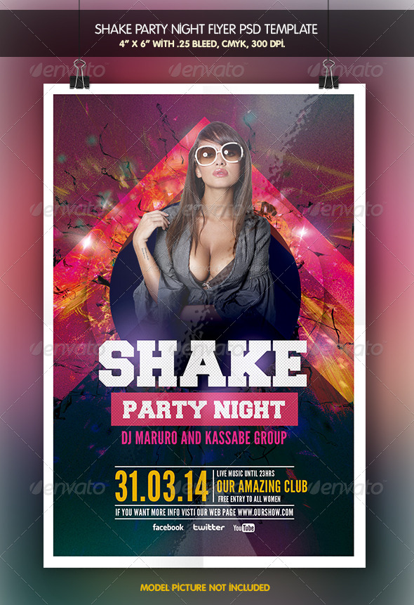 Shake Party Night - Clubs & Parties Events