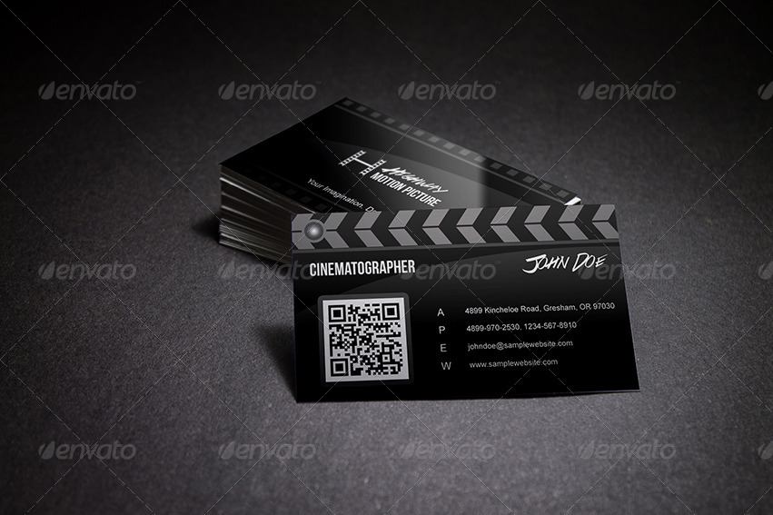Super creative film making business card by taeef graphicriver super creative film making business card wajeb Gallery