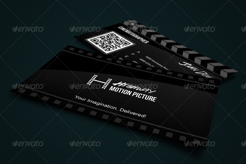 Super Creative Film Making Business Card by Taeef | GraphicRiver