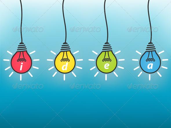 Idea Business Concept - Backgrounds Business