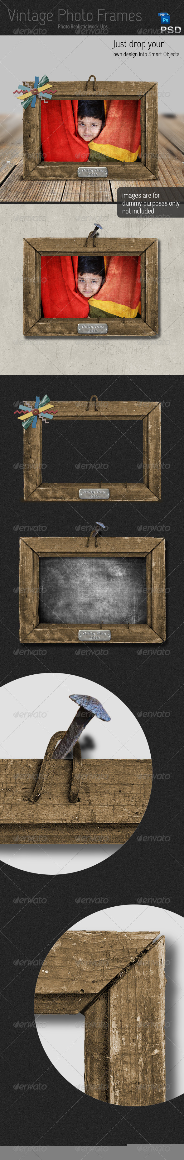 Vintage Photo Frames - Artistic Photo Templates