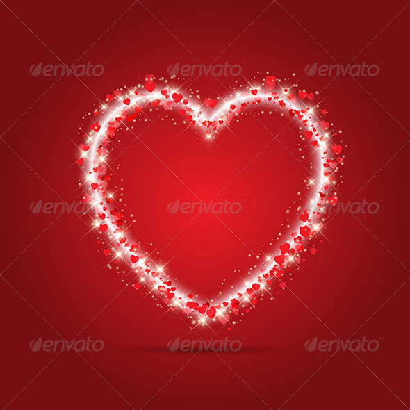 Sparkle Heart Design - Valentines Seasons/Holidays
