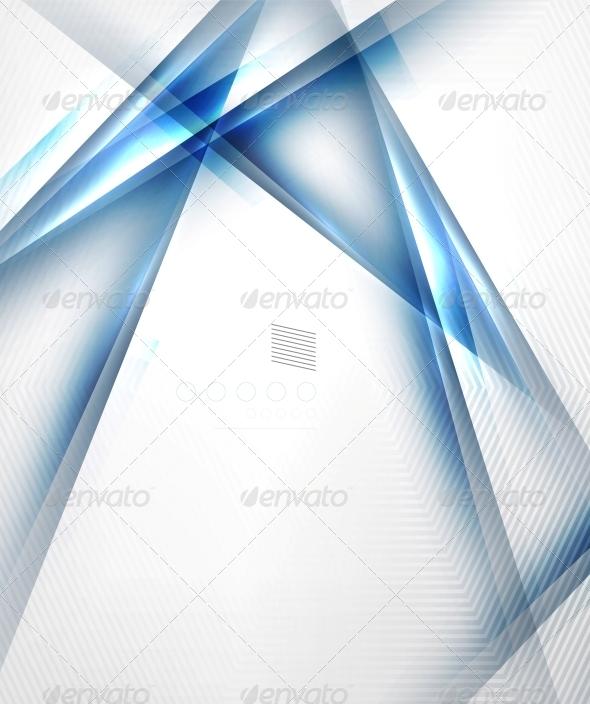 Blue Light Shadow Straight Lnes Design - Web Technology