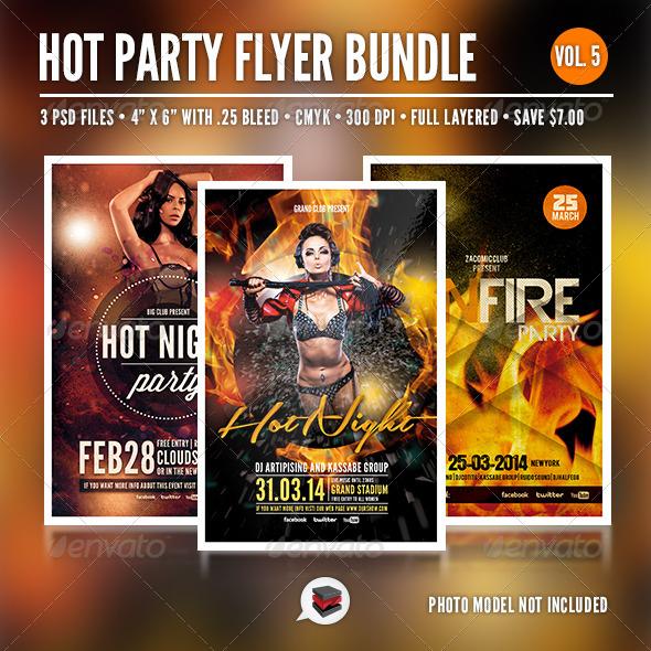 Hot Party Bundle Vol. 5 - Clubs & Parties Events
