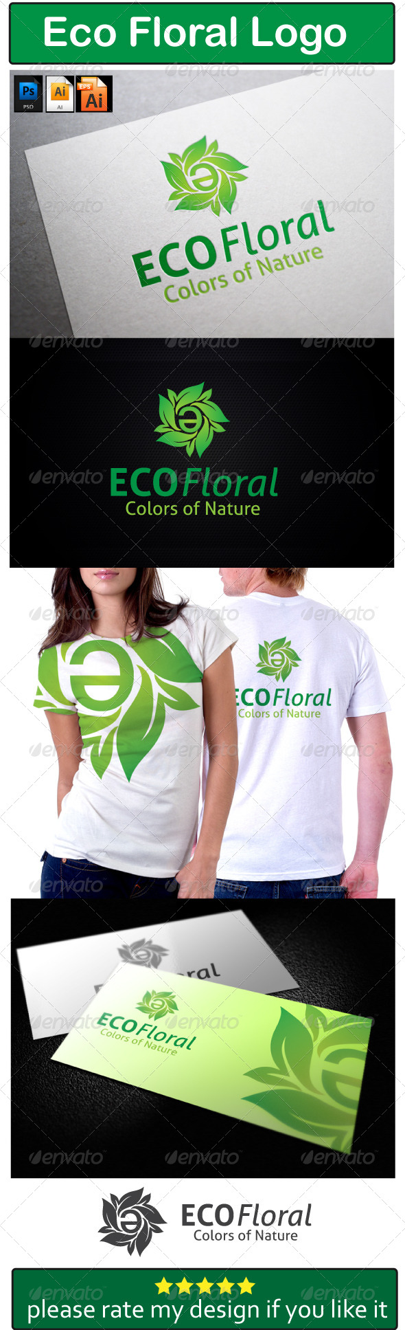 ECO Floral - Nature Logo Templates