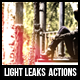 Light Leaks Actions - GraphicRiver Item for Sale