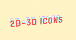2D-3D Icons Pack