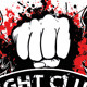 Agressive Fight Club T-shirt  with Blood Splatter - GraphicRiver Item for Sale