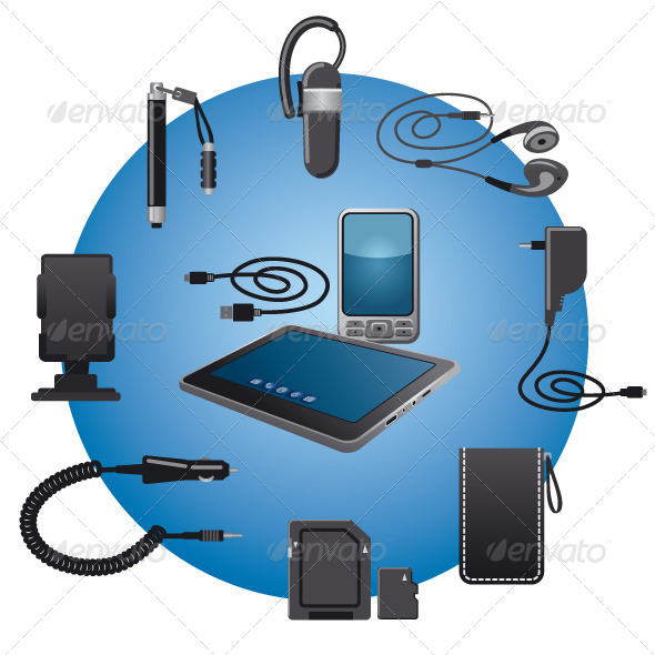 Devices Accessories - Vectors