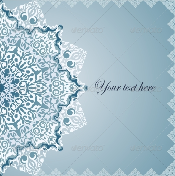 Vintage Background Traditional Ottoman Motifs. - Backgrounds Decorative