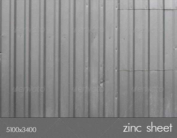 zinc sheet - Metal Textures
