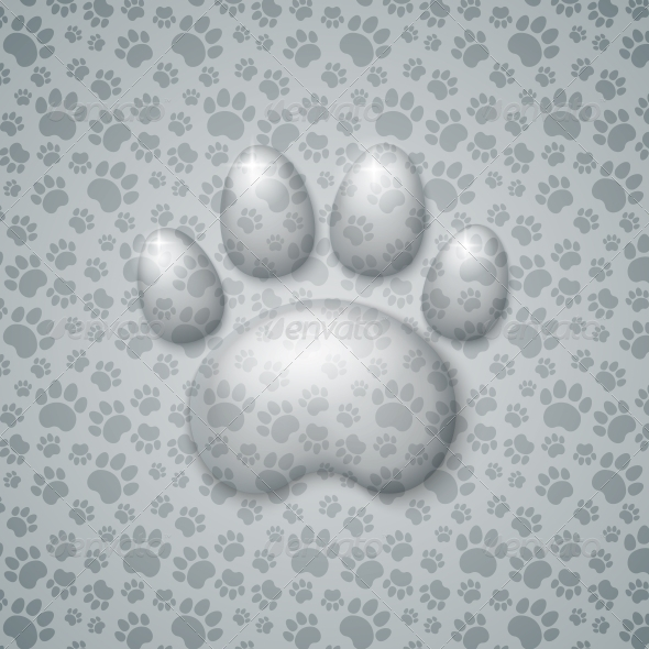 Trace Cat in the Form of Droplets Water - Animals Characters