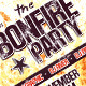 The Bonfire Party Flyer - GraphicRiver Item for Sale