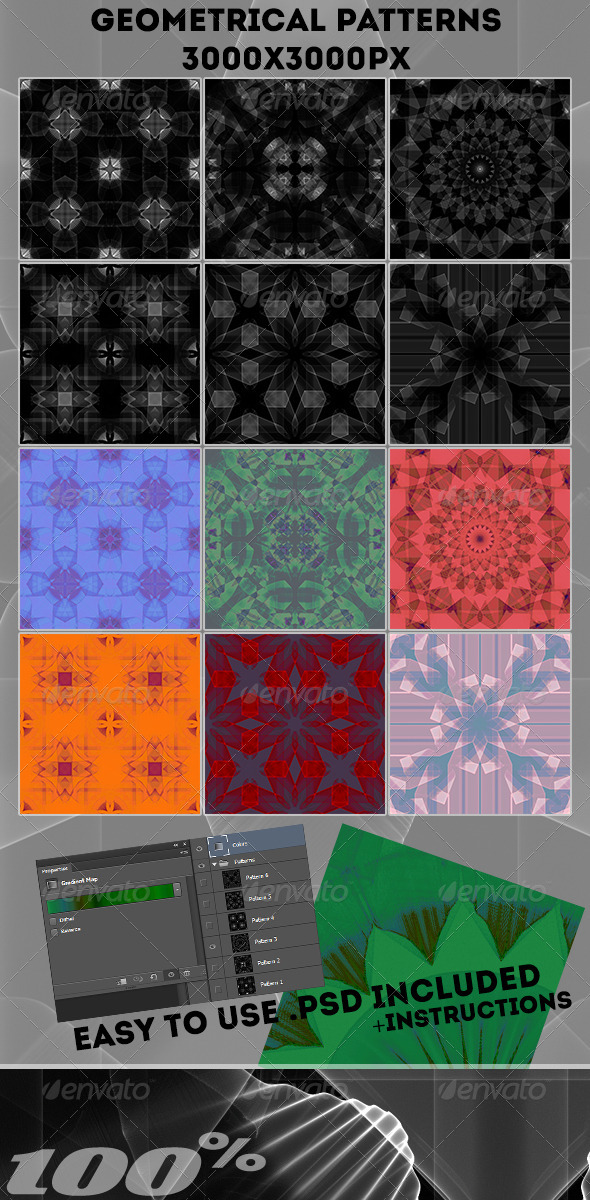 Geometrical Patterns - Abstract Backgrounds