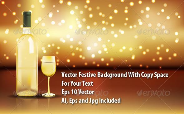 Wine Background - Backgrounds Decorative