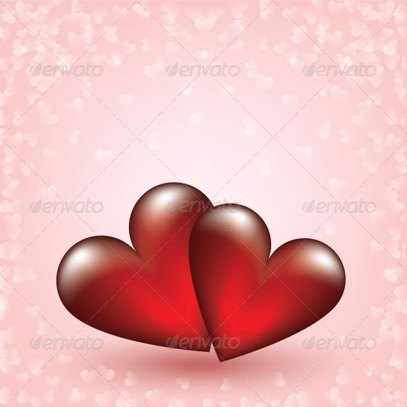 Two Hearts - Valentines Seasons/Holidays