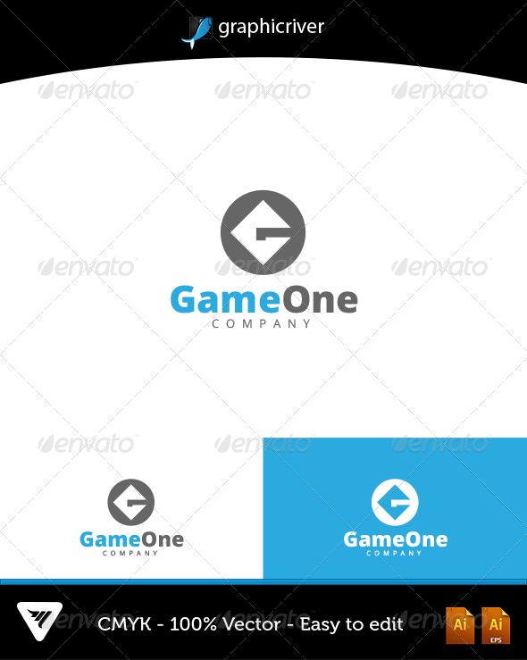 GameOne Logo - Logo Templates