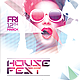 House Fest Flyer Template PSD - GraphicRiver Item for Sale