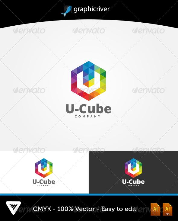 U-Cube Logo - Logo Templates