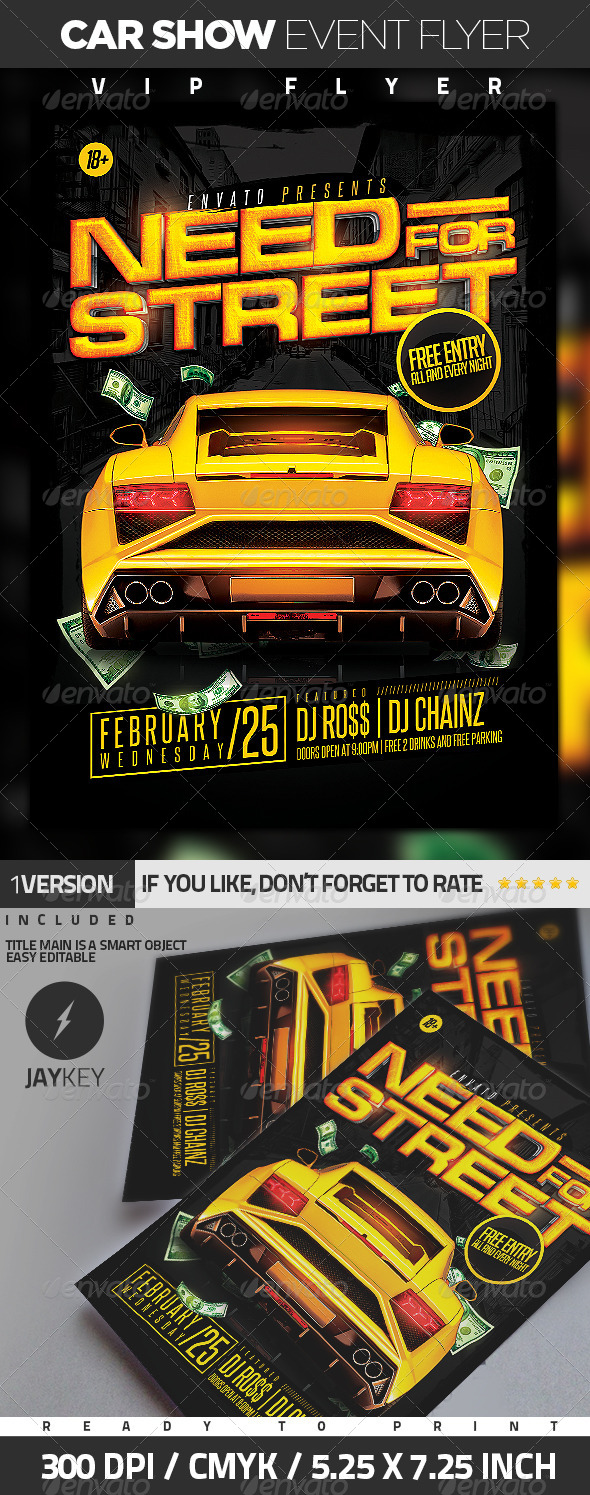 Car Show Event Flyer - Events Flyers