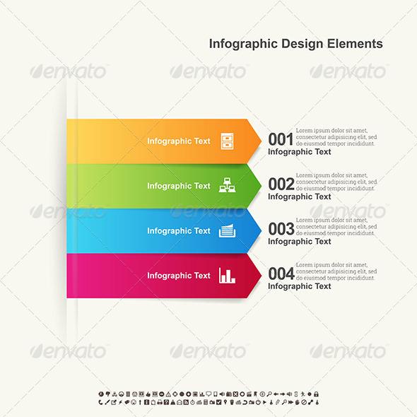 Arrow Infographic Elements - Infographics