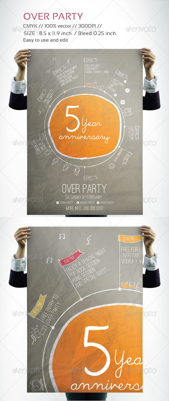 Over Party - Clubs & Parties Events