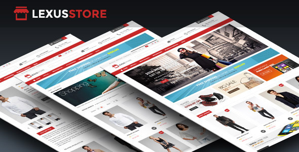 Lexus Store Responsive Opencart Theme - Shopping OpenCart