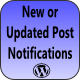 New or Updated Post Notifications
