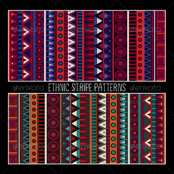 Abstract Tribal Ethnic Patterns - Patterns Decorative