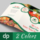 Restaurant Business Bi-Fold Brochure | Volume 3 - GraphicRiver Item for Sale