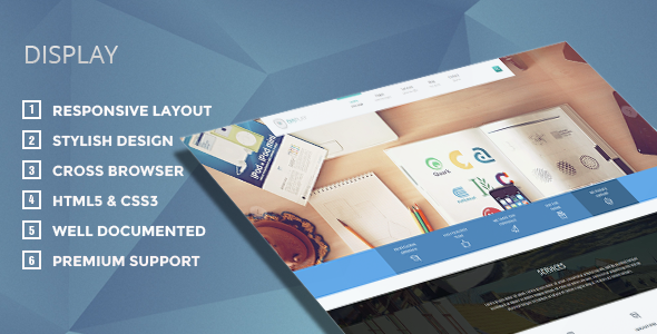 Display - Responsive WordPress Theme - Creative WordPress