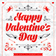 Valentine`s Day Party Poster - GraphicRiver Item for Sale