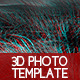 3D Photo Template - GraphicRiver Item for Sale