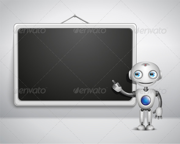 Robot at the Board - Miscellaneous Characters