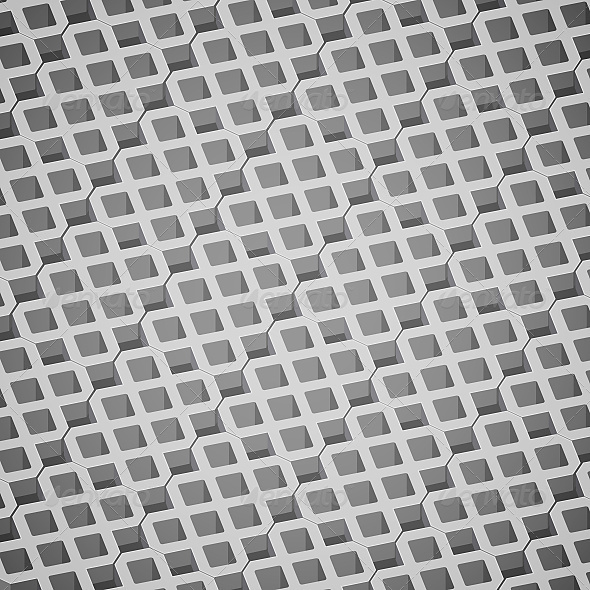 Gray Concrete Pavement - Patterns Decorative