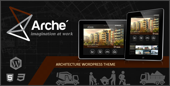 Arche - Architecture WordPress Responsive Theme