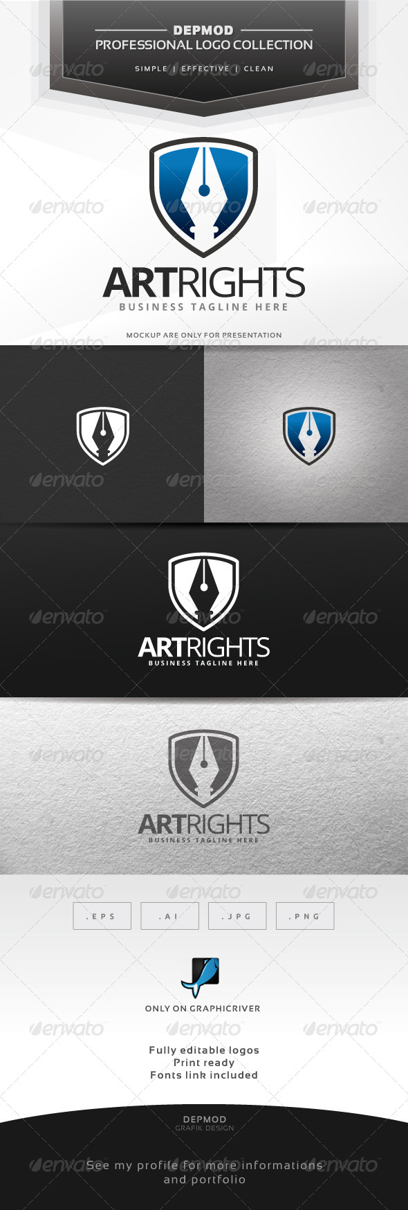 Art Rights Logo - Symbols Logo Templates