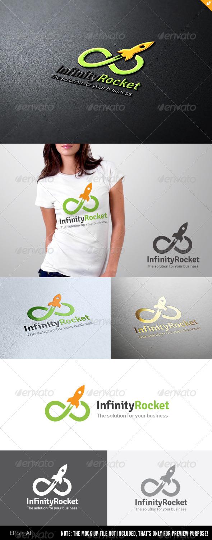 Infinity Rocket - Symbols Logo Templates