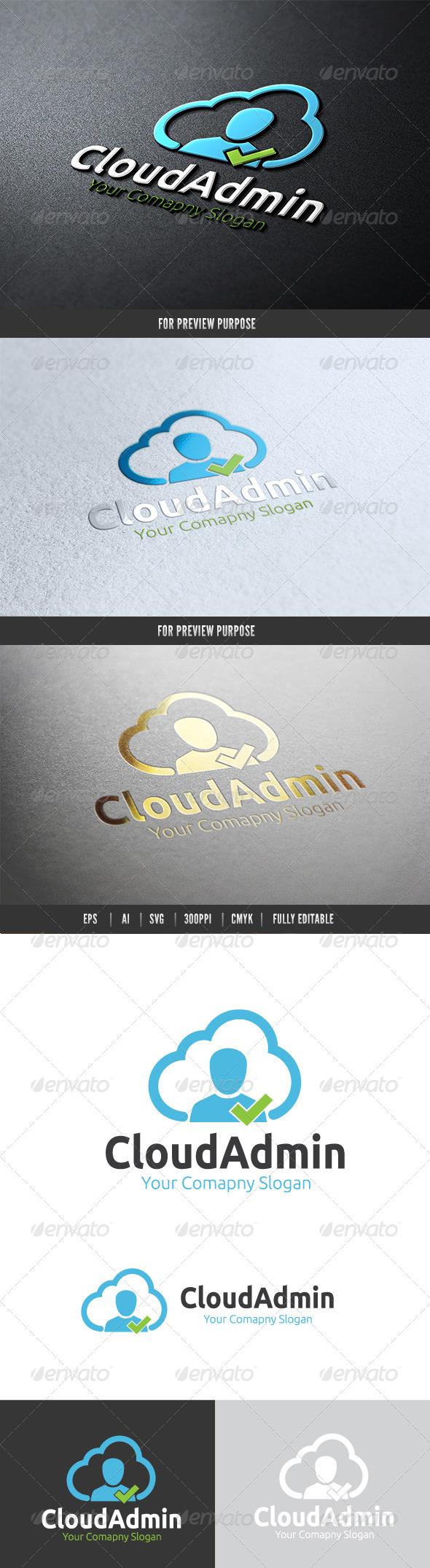 Cloud Admin - Nature Logo Templates
