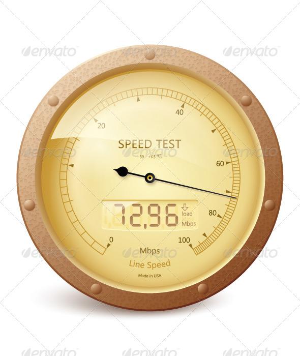 Internet Speed Test  - Web Technology